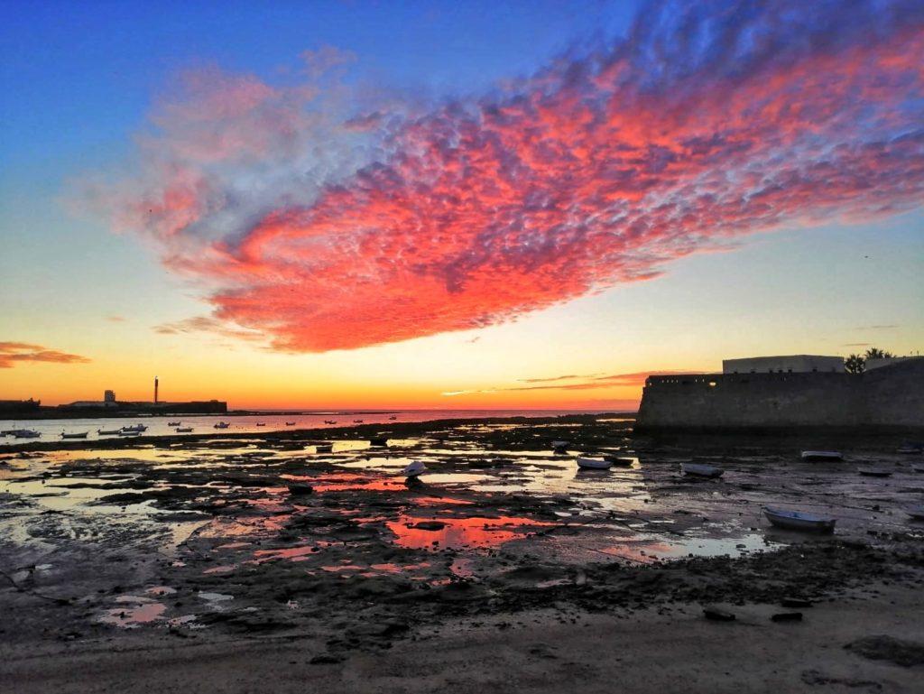 Playa de la Caleta Cádiz - Naturaleza Andalucía