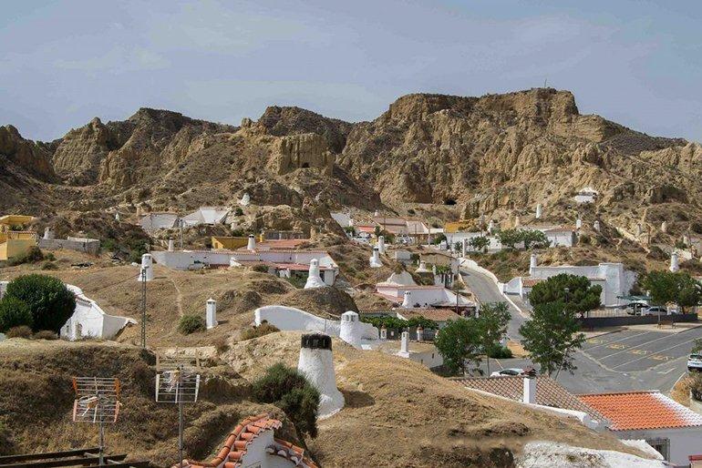 Casas cueva Granada - Naturaleza Andalucía