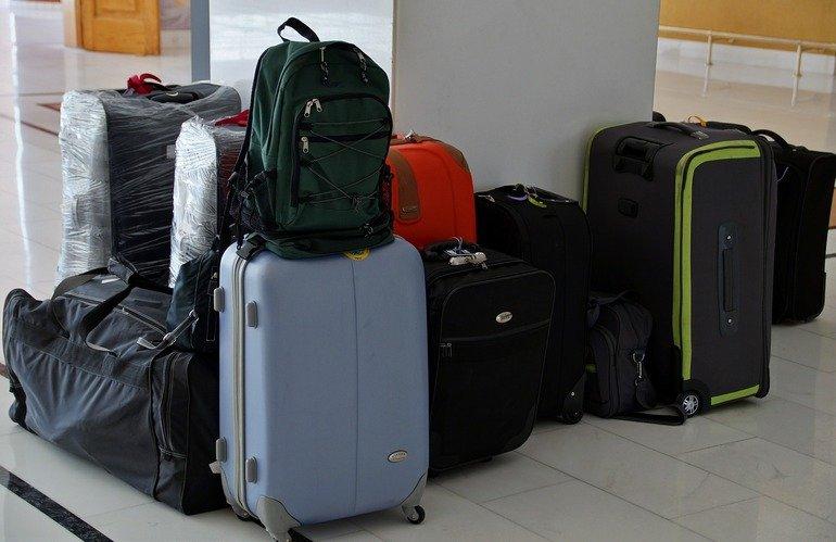 Diferentes modelos de maletas