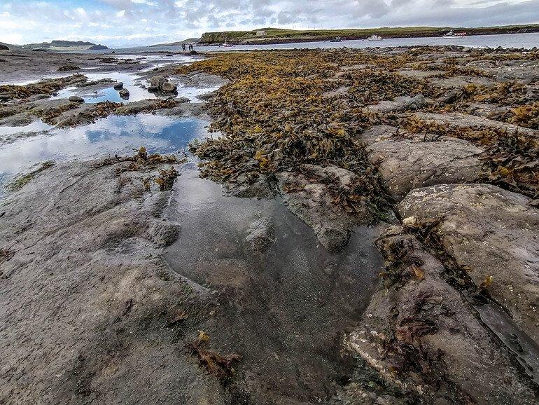 An Corran Beach Isla de Skye en Escocia