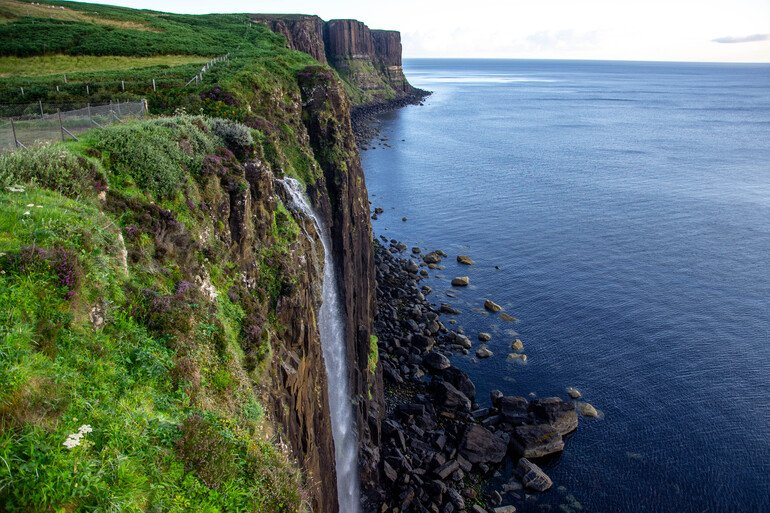 El gran acantilado que ver en la Isla de Skye