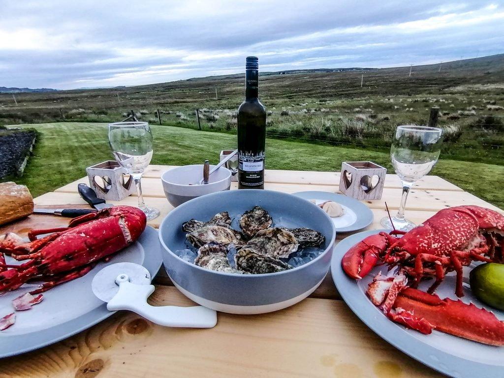 Donde comer en la isla de Skye