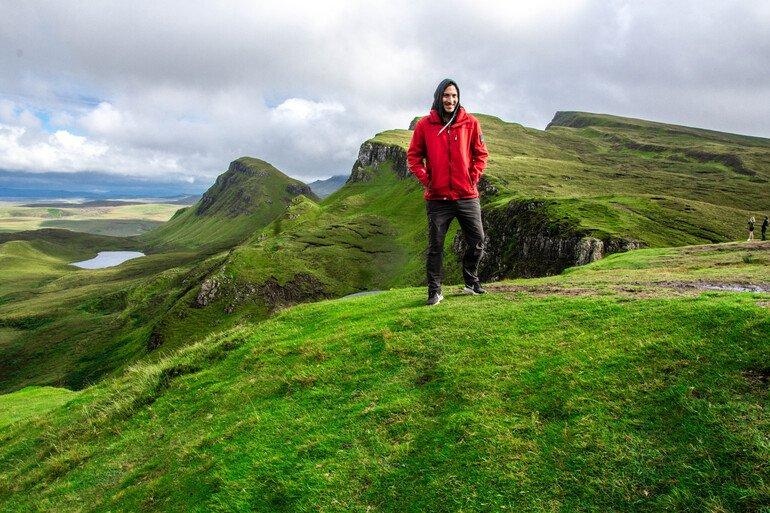 The Quiraing en isla de Skye Escocia