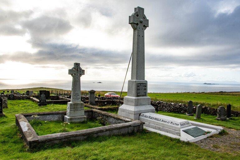 cementerio de Kilmuir Isla de Skye Escocia