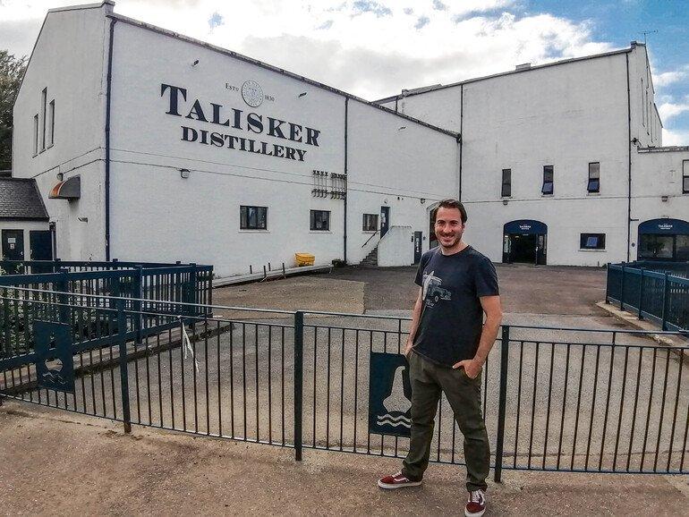 Talisker Distillery en Isla de Skye Escocia