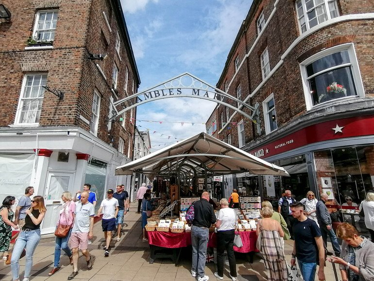 Calles principales de York - Que ver en York