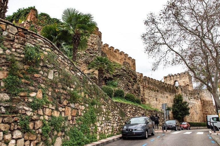 Muralla y alcazaba que ver en Marbella