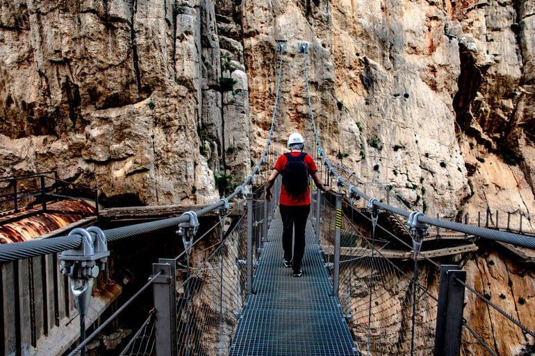 Puente colgante - Caminito del Rey Málaga
