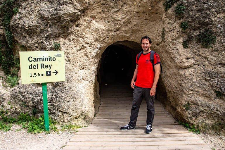 entrada - Caminito del Rey Málaga