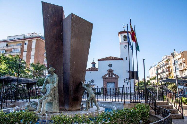 Que ver en Fuengirola - Plaza de la Costitución