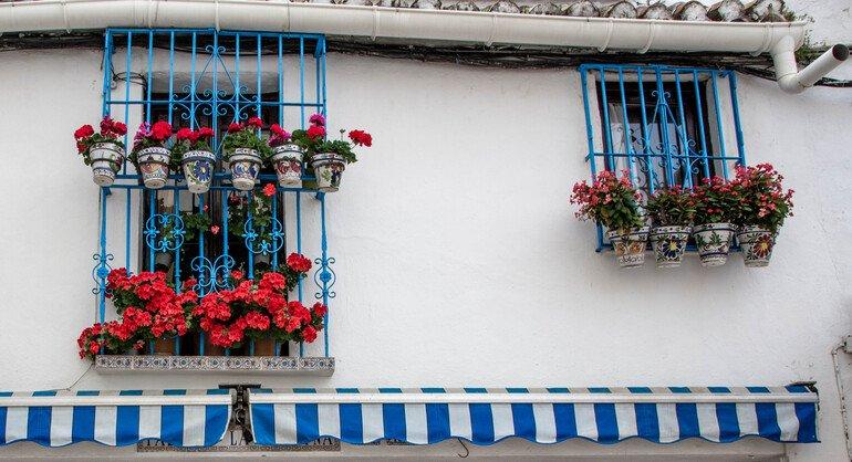 Calle pintorescas en Torremolinos