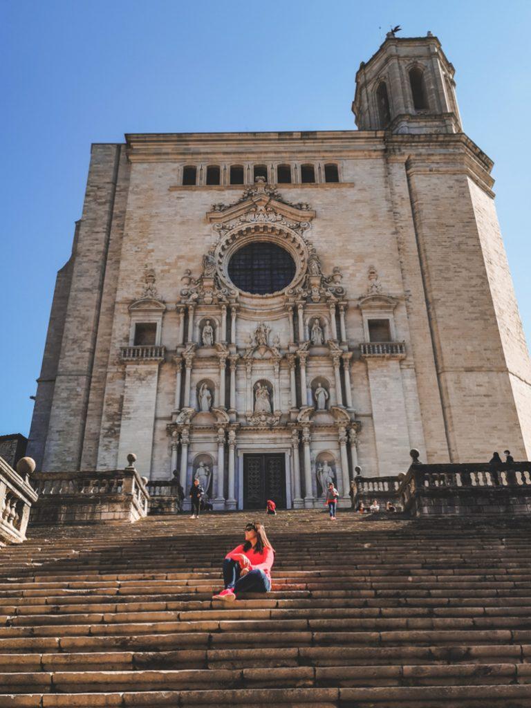 Nuria in Wonderland en la Catedral de Girona