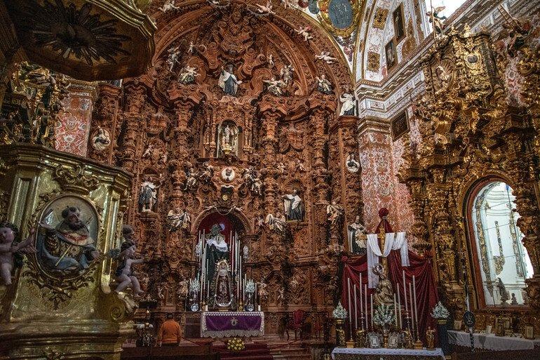 Iglesia del Carmen barroca, Antequera