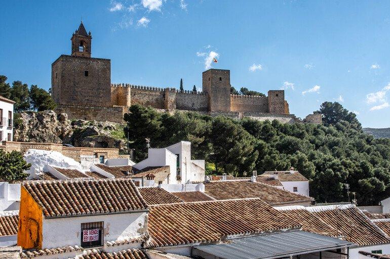 Que visitar en Antequera, El Alcazabar
