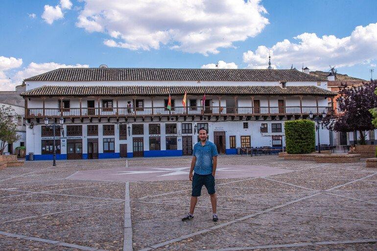 Plaza de España que ver en Consuegra