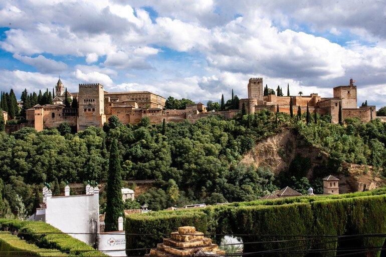 Camping en Granada capital